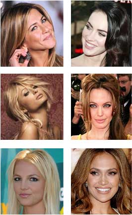 hollywood stars like jennifer aniston, paris hilton and angelina jolie, britney spears doesnt have double chin!